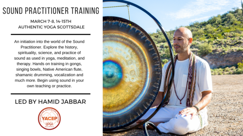 Sound Practitioner Training March 2020