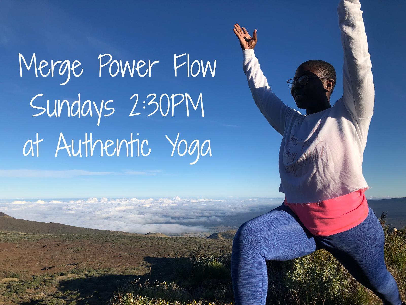 Merge Power Flow Yoga