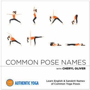 Common Yoga Pose Names in Sanskrit
