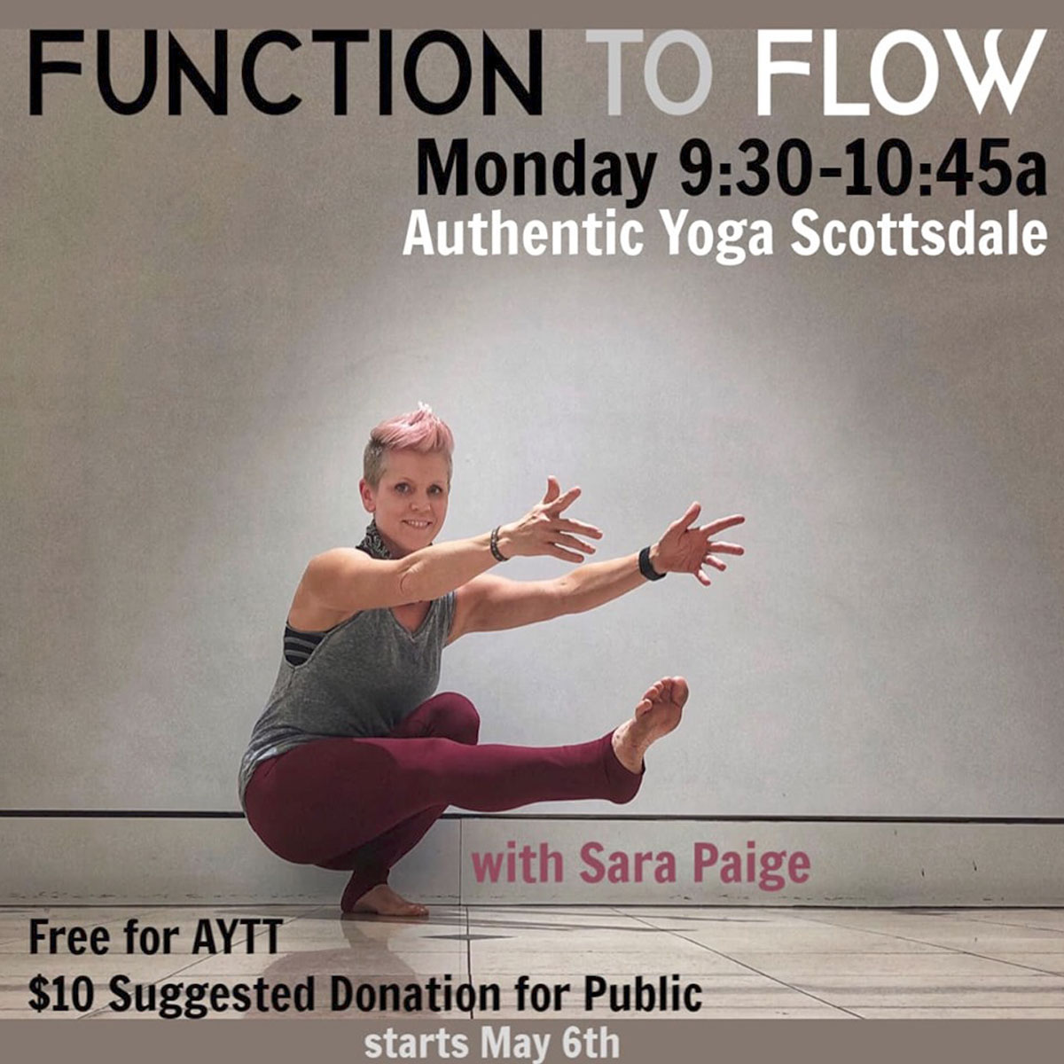 Function to Flow Yoga