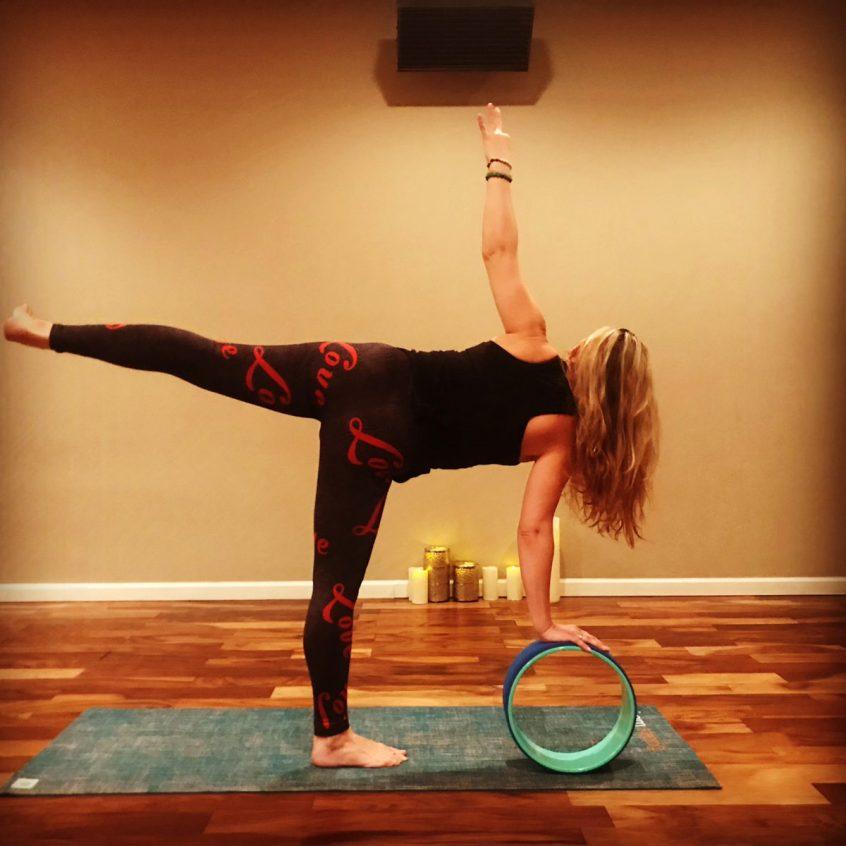 Yoga Wheel with Kandi Neal